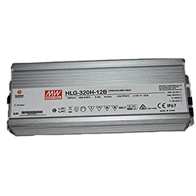 Image of 12V, Mean Well HLG-320H-12B Ballasts