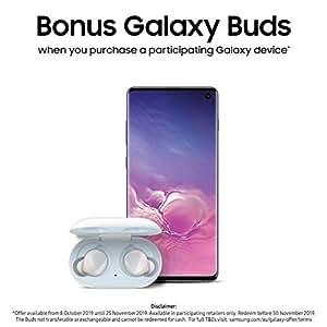 Samsung SM-G973FZKGXSA Galaxy S10 512GB Hybrid SIM Smartphone (Australian Version), Prism Black