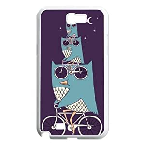 Owl Customized Cover Case for Samsung Galaxy Note 2 N7100,custom phone case ygtg526842