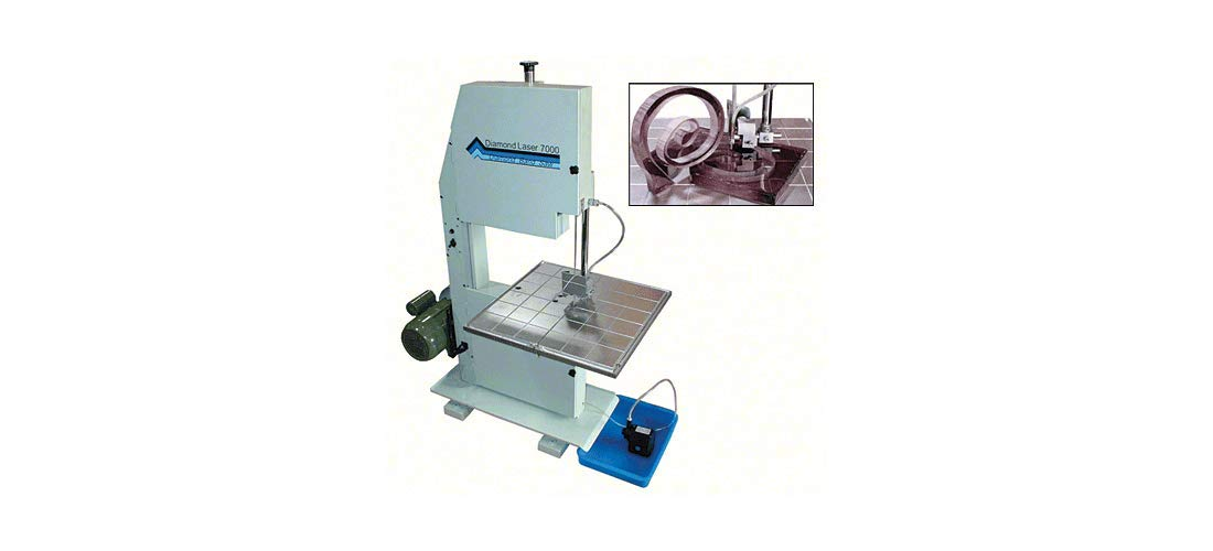 Diamond Laser Heavy Duty Band Saw