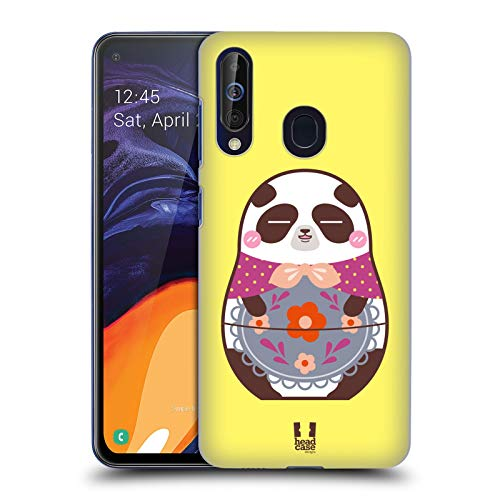 Head Case Designs Panda Animal Nesting Dolls Hard Back Case Compatible for Samsung Galaxy A60 (2019)