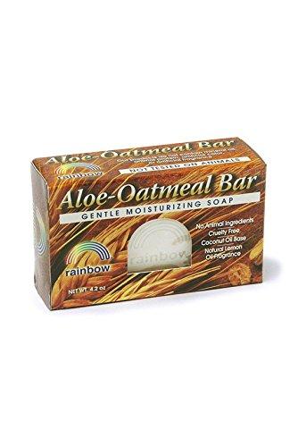 Rainbow Research Bar Soap, Aloe Oatmeal, 4 Ounce -