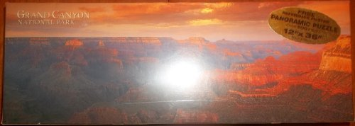 GRAND CANYON NATIONAL PARK 12 X 36 PANORAMIC JIGSAW PUZZLE