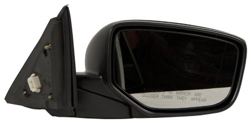 OE Replacement Honda Accord Passenger Side Mirror Outside Rear View (Partslink Number HO1321230) (2010 Rear View Mirror)