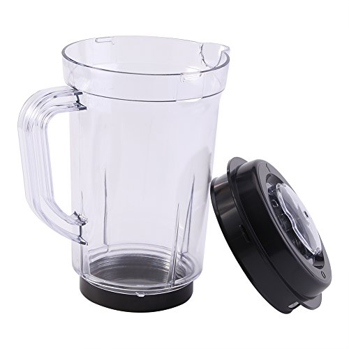 Pitcher Cup for Magic Bullet Replacement Mug Blending Pitcher with Lid Assembly Parts 1000ML for Magic Bullet Blender Juicer Mixer Magic Bullet by Aramox