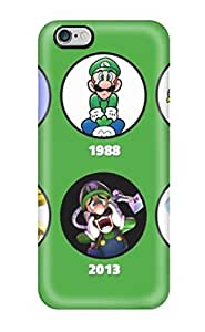 Iphone Cover Case - Super Luigi U Protective Case Compatibel With Iphone 6 Plus by ruishername