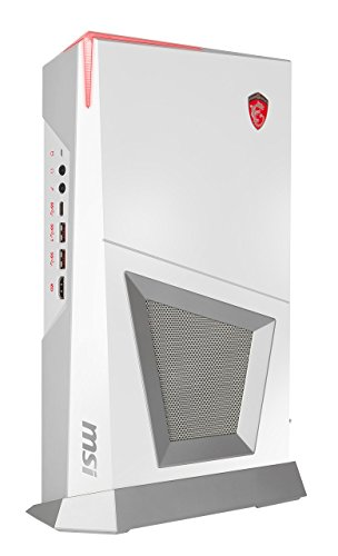 MSI Trident 3 Arctic VR7RD-048US Small Form Factor Gaming Desktop GTX 1070 8GB Core i7-7700 16GB 256GB SSD+1TB Keyboard Mouse,...