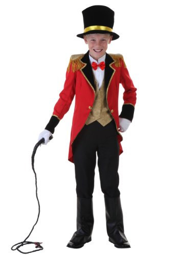 Big Boys' Ringmaster Costume - M