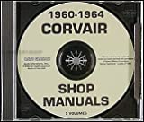 1960-1964 Corvair CD-ROM Repair Shop Manual