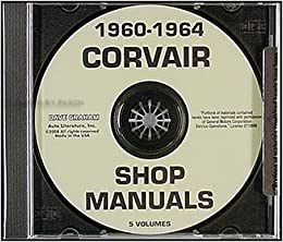 CHEVROLET 1960-1964 Corvair Shop Manual CD