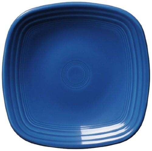 Blue Square Luncheon Plate - Fiesta Square Luncheon Plate, 9-1/8-Inch, Lapis