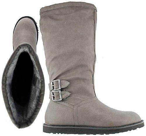 Phildon 521602 Ladies Boots In Dark Grey 521602 1xpQaW