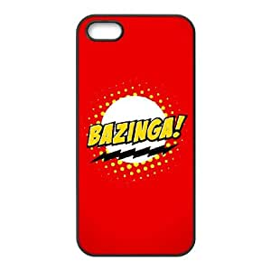Bazinga iPhone 4 4s Cell Phone Case Black Phone cover W9314677