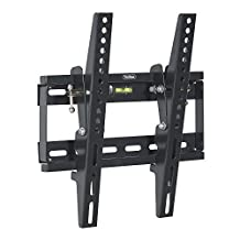 "VonHaus TV WALL MOUNT Fits All Models LCD, LED & Plasma TV - Samsung Sony Philips Toshiba - (17 - 37.5"") - Super-Strength 165lbs load capacity with Tilt Mechanism"