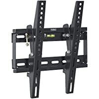 VonHaus TV WALL MOUNT Fits All Models LCD, LED & Plasma TV - Samsung Sony Philips Toshiba - (17 - 37.5) - Super-Strength 165lbs load capacity with Tilt Mechanism