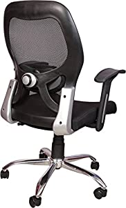 KS Trader Medium Back Office Chair in Black (Matrix LBChair)