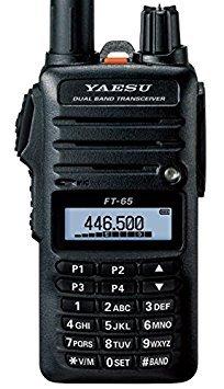 Yaesu Original FT-65 FT-65R 144//440 Dual-Band Rugged /& Compact Handheld Transceiver 5W 3 Year Warranty