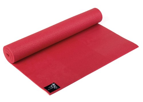 Yogistar Yogamatte Basic - rutschfest - Fire Red