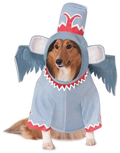 (Wizard of Oz Pet Costume, Large, Winged Monkey)