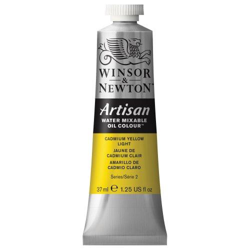Winsor & Newton 1514113 Artisan H20 Oils 37ML. CAD Yell LT, 37-ml Tube, Cadmium Yellow - Light Yellow Colors Cadmium