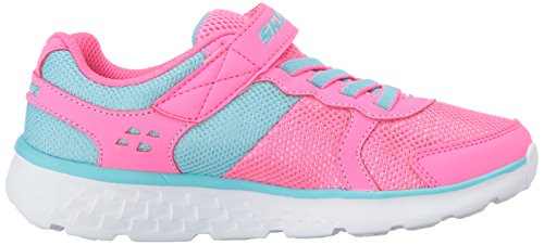 Pictures of Skechers Kids Girls' GO Run 400-Sparkle 81358L Neon Pink/Aqua 3