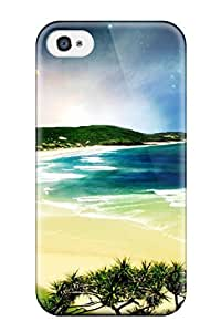 Durable Case For The Iphone 4/4s- Eco-friendly Retail Packaging(3d Nature Art)