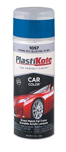 PlastiKote 1057 Ford Royal Blue Pearl Metallic Base Coat Automotive Touch-Up Paint - 11 oz.