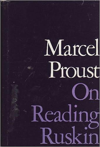 Book On Reading Ruskin