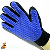 ENJOY PET Deshedding Glove for Gentle and Efficient Pet Grooming, Pet Massage Gloves Skin-Friendly Design, Gently Remove the Hair(Left Hand and Right Hand One Pair)
