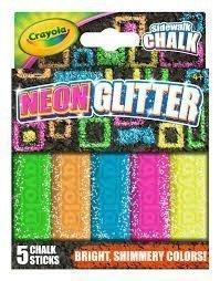 Sidewalk Chalk Neon/Glitter hallmark