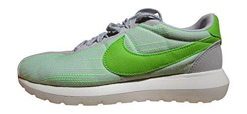 Nike W Roshe Ld-1000 Kvinna Gymnastiksko Svart 819.843 001 Plateado (pr Pltnm / Elctrc Grn-sl-tm Orng 004