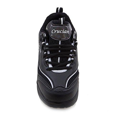 Ginnastica Scarpe Nero Dimagranti Sportive Rassodanti Sport Toocool Sneakers Donna W2830 dXxUqTApnw