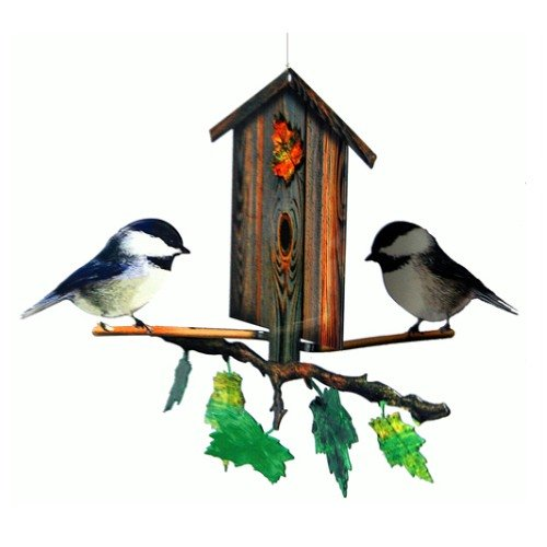 Next Innovations NSMCHICKADEES CB Nature Symphony Chickadee Birdhouse 101120001