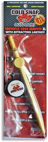 T2 Toothpick 3 Pack COLDSNAP OUTDOORS HOOK REMOVAL JIG SAVER
