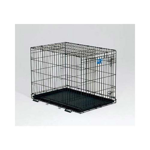 (Life Stages Fold & Carry Single-Door Dog Crate Size: Small - 24