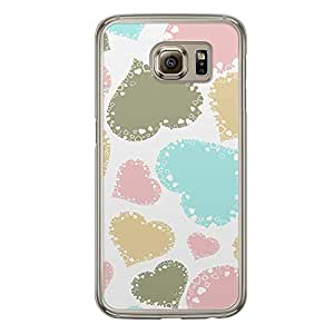 Loud Universe Samsung Galaxy S6 Love Valentine Printing Files A Valentine 135 Printed Transparent Edge Case - Multi Color