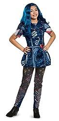Disney Evie Classic Descendants 2 Costume, Blue, Small...