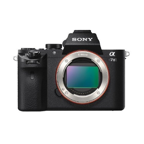 Sony Alpha a7 II Full Frame Mirrorless Digital Camera Body Only - ILCE-7M2/B (Certified Refurbished)