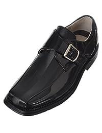 Easy Strider Boys'Chevron Shine Dress Shoes