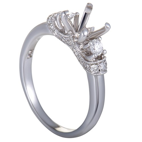 Scott Kay 38ct 14K White Gold Diamond Engagement Ring (Scott Kay Diamond Band)