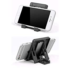 ZOBAK® Folding Mobile Stand/Holder/Mount for Table/Desktop with 4 Viewing Adjustments .Support Mostly All Mobile Phones,Ipads & Tablets.(1 Pcs)