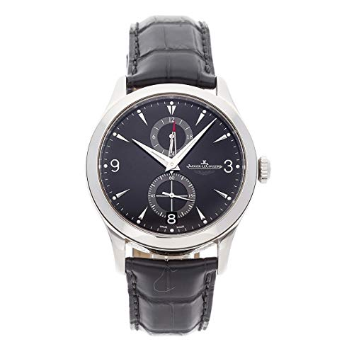 Jaeger-LeCoultre Master Mechanical (Automatic) Black Dial Mens Watch Q162847N (Certified Pre-Owned) - Aston Stainless Watch Steel