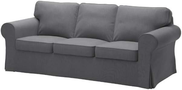 IKEA Cover for Ektorp Sofa, Nordvalla Dark Gray
