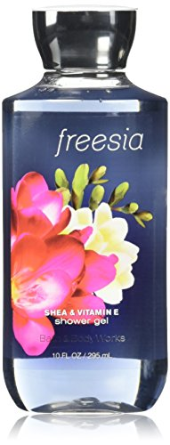 (Bath & Body Works Shea & Vitamin E Shower Gel Freesia)