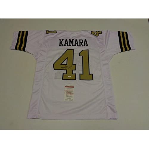 cheaper 49897 cb335 Alvin Kamara Signed Jersey - color rush Witness - JSA ...