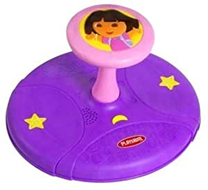 Amazon Com Dora The Explorer Sit N Spin Toys Amp Games