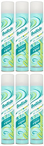 Batiste Dry Shampoo, Clean and Classic Original, 400ml, Pack of 6 by Batiste
