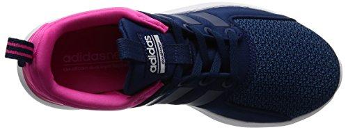 adidas Damen Cloudfoam Lite Racer W Sneaker Low Hals, Blau (Azumis/Azumis/Ftwbla), 36 EU