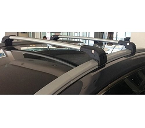 KREMER Barre Portattutto per Railing Integrati Specifiche per Fiat 500X dal 2015