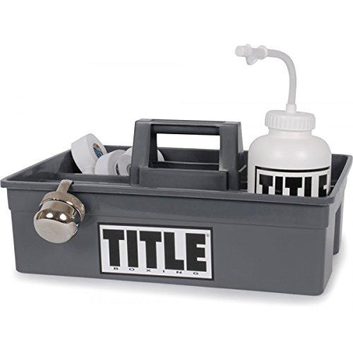 Title Corner Caddy, Grey